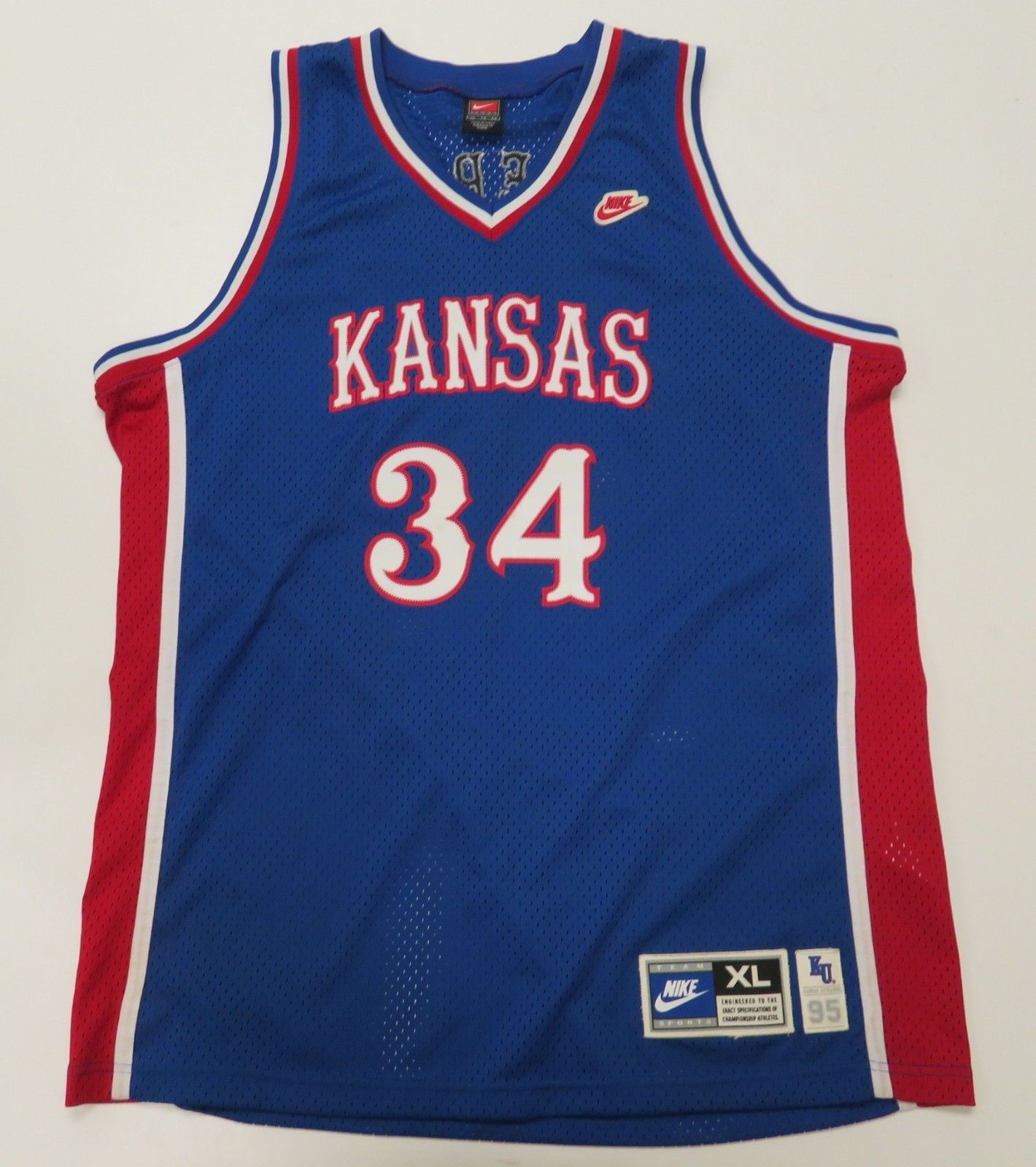 Nike VTG Basketball Jersey Kansas Jayhawks and 50 similar items. S l1600 a6eb8bb0b