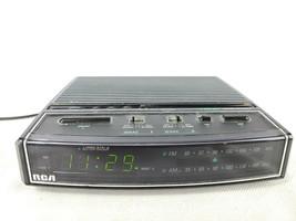 RCA AM FM Radio Dual Alarm Clock Model RP-3651B Nite-Glo LED Display VIN... - $37.46