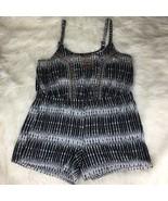 Jessica Simpson Women's Black White Romper Size 1X - $19.78