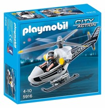 New PLAYMOBIL Set No. 5916 City Action Police Copter - $48.37