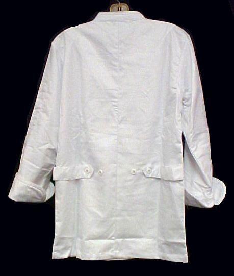 White Chef Coat CIA Culinary Institute America 4XL New Style 9601 Aramark New