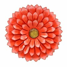 LIMEIDE Large Metal Flower Outdoor Wall Decor Garden Hanging Decoration ... - $35.95