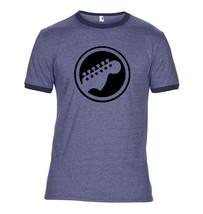 Guitar Head Stock Ringer T Shirt - $12.90