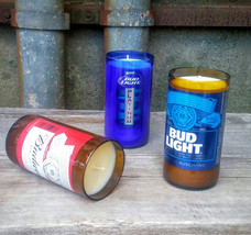 Beer Decor Scented Candles, Set of Three From R... - $30.95