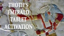 ALBINA'S THOTH'S EMERALD TABLET  ACTIVATION TRANSFORMING MAGICK RING PEN... - $133.77