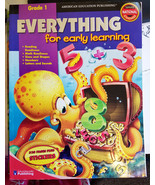 Everything For Early Learning worksheet book grade 1 homeschool Reading,... - $9.99
