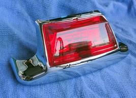 Harley Fender Tip Rear Red Lens Chrome Flstc Flt Flhr Flht Models - $17.17