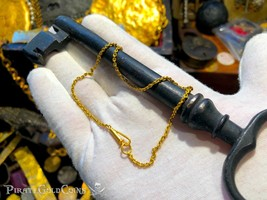 SANTA MARGARITA GOLD CHAIN 183 LINKS ATOCHA 1622 SHIPWRECK TREASURE FISHER - $6,850.00