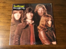 BADFINGER ~ STRAIGHT UP ~ ORIGINAL FIRST PRESS ON APPLE WITH STICK STILL... - $643.50