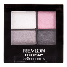 REVLON Colorstay 16 Hour Eye Shadow Quad, Goddess, 0.16 Ounce  - $10.75