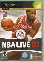 NBA Live 07 Microsoft Xbox 2006 - $2.89