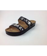 """Joan Boyce Strappy """"Ruth"""" Comfort Sandal with Jewels, Black, Size US 6 Med. - $24.74"""