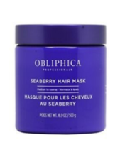 Obliphica Seaberry Hair Mask Thick to Coarse, 16.9 oz