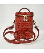 NWT Brahmin Brynn Barrel Bag/Shoulder Bag in Lava Melbourne - $229.00