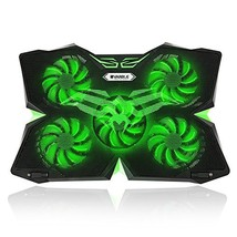 """Vanble 5 Fans Gaming Laptop Cooling Pad for 12""""-17"""" Laptops with LED Lig... - €26,54 EUR"""