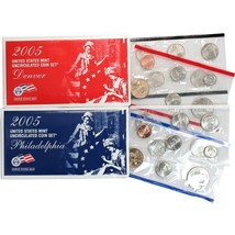 2005 P & D US Mint Set United States Original Government Packaging Box C... - £10.46 GBP