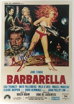 "Jane Fonda Signed Autographed ""Barbarella"" Glossy 11x17 Movie Poster - C... - $199.99"