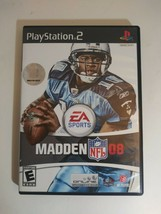 Madden 2008 Playstation 2 Game Complete Case With Manual pre-owned - $6.77