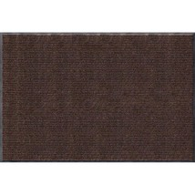Apache Mills Rib Commercial Carpeted Indoor and Outdoor Floor Mat, Cocoa... - $78.22