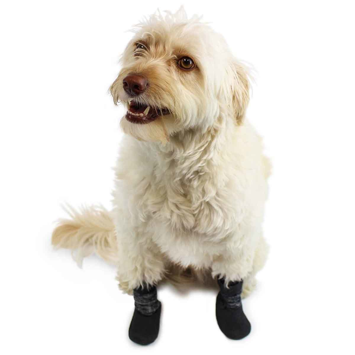Primary image for Dog Socks | Anti-Slip with Traction | Waterproof Sole | Dog Boots for Hardwood F