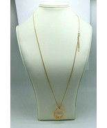 """Women's Fashion Rose Gold Tone Box Chain  Necklace with Pendant 27"""" - $19.70"""