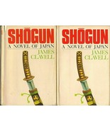 Shogun Volume One & Two by James Clavell (1975~BCE) set of 2 hardcovers ... - $103.95