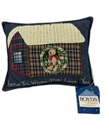 Boyd's Bears Home is Where They Love You Pillow and Bear  NWT - $14.03