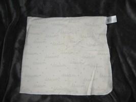 Just Born White Gray Mint Green Aqua Dot Cotton Flannel Dream baby blanket - $26.72