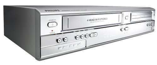 Philips DVDR600VR DVD Recorder with VCR