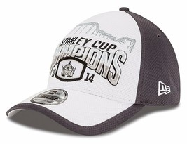 NHL Los Angeles Kings 2014 Stanley Cup Championship Locker Room Cap New Era Hat image 2