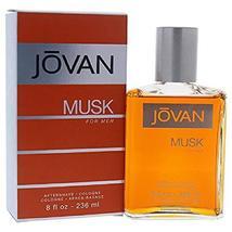 Jovan Musk for Men, After Shave Cologne, 8 fl. oz, Men's Fragrance with ... - $18.80