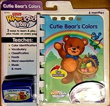 Fisher Price PowerTouch Baby Cutie Bear's Colors Interactive Book & Car... - $17.81