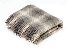 Natural Collection Pure New Wool Throw Blanket Ombre Brown - ₹7,088.69 INR