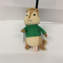 TY Alvin and the Chipmunks Theodore Plush Doll Toy 6 Inch 2010 beanie green - $12.87