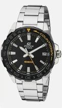 Casio Edifice EFV-120DB-1AVCR, Stainless, Rotating Bezel - $50.00