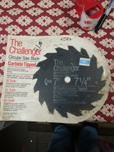 The Challenger Circular Saw Blade Carbide Tipped 7 1/4 in. - $27.99