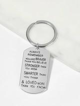 Letter Pattern Metal Pendant Keychain, LOVE CHARM KEYCHAIN - $12.86