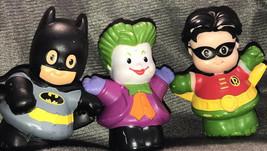 Marvel Batman Joker Robin Little People Fisher Price Set Lot Htf Rare - $34.28