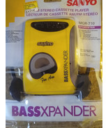 Resyano Walkman Cassette Player AM / FM Bass Xpander Model MGR  -  710 Sport ...  -  $ 39.98