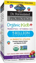 Garden of Life-Dr. Formulated Probiotics Organic Kids-Berry Cherry-Acido... - $75.03