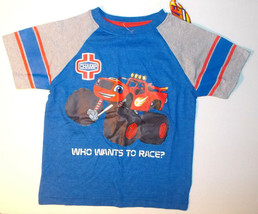 Nickelodeon Blaze Boys T-Shirts Sizes 2T, 3T or 4T NWT - $13.99