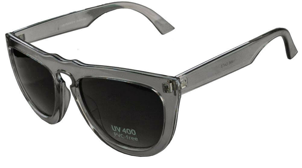 Quay 1466 Sunglasses Gray Frames Smoke Lenses UV 400 PVC-Free Complete Shades