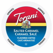 Torani Salted Caramel Coffee 24 to 144 Keurig K cups Pick Any Size FREE SHIPPING - $84.99