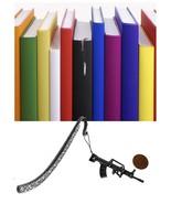 Steyr AUG Pewter Emblem Pattern bookmark for books organisers codeZ - $12.92
