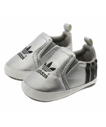 Silver Gray Unisex Baby First Walking Shoes 0-18 Months Baby Toddler Sho... - $16.99