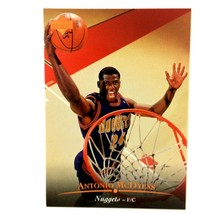 Antonio McDyess 1995-96 Upper Deck Rookie Card #135 NBA Denver Nuggets - $1.93