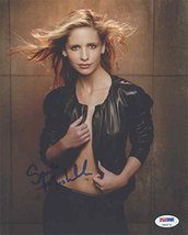 Sarah Michelle Gellar Sexy Signed 8x10 Photo Certified Authentic PSA/DNA COA - $296.99