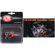 Engine and Transmission Replica  Z16 396 from 1965 Chevelle Malibu 1/18 ... - $37.07