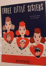 Vintage Three Little Sisters Sheet Music Irving Taylor 1942 - $7.91