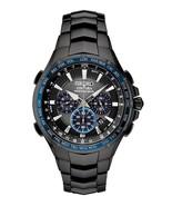 New Seiko Solar Coutura Radio Controlled Black PVD Bracelet Men's Watch ... - £317.96 GBP